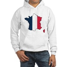 Flag Map of France Hoodie