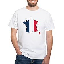 Flag Map of France Shirt