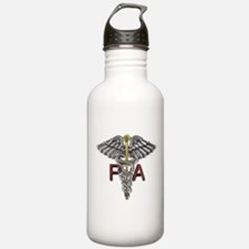 PA Medical Symbol Water Bottle