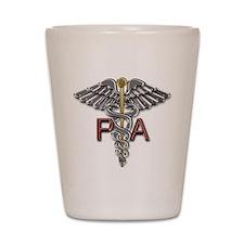 PA Medical Symbol Shot Glass