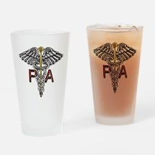 PA Medical Symbol Drinking Glass
