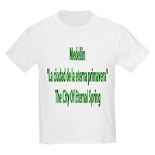 Medellin frases colombianas Kids T-Shirt
