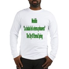 Medellin frases colombianas Long Sleeve T-Shirt