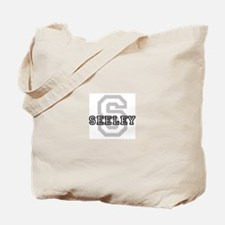 Seeley (Big Letter) Tote Bag