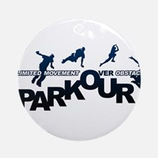parkour3.jpg Ornament (Round)