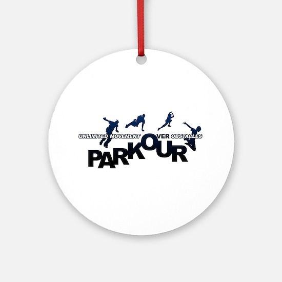 parkour3.jpg Ornament (Round)