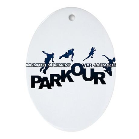 parkour3.jpg Ornament (Oval)