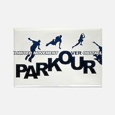 parkour3.jpg Rectangle Magnet