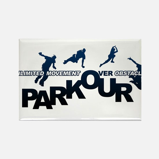 parkour3.jpg Rectangle Magnet