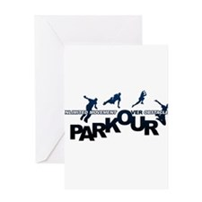 parkour3.jpg Greeting Card
