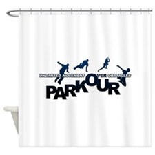parkour3.jpg Shower Curtain