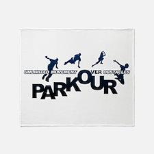 parkour3.jpg Throw Blanket