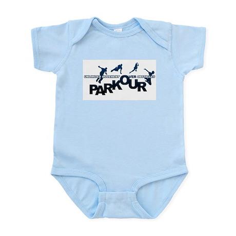 parkour3.jpg Infant Bodysuit