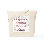 Growing A Future Baseball Pla Tote Bag