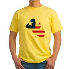 Liberia Flag and Map T