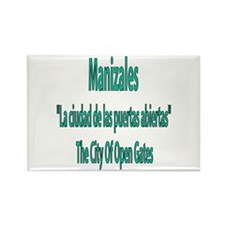 Manizales frases colombianas Rectangle Magnet