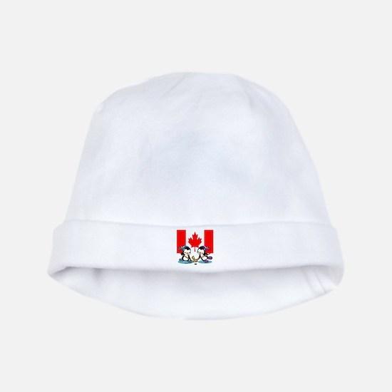 Canada Ice Hockey Penguins Baby Hat