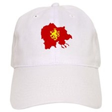 Macedonia Lion Flag and Map Baseball Cap