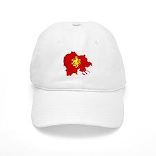 Macedonia Lion Flag and Map Cap