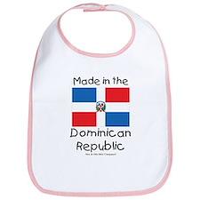Made in the Dominican Republic Bib
