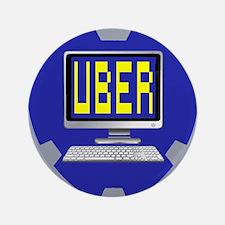 """UberLogo 3.5"""" Button"""