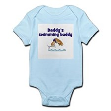 Daddy's Swimming Buddy Infant Creeper