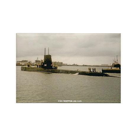 USS CHOPPER Rectangle Magnet