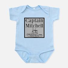 Personalized Captain Infant Bodysuit