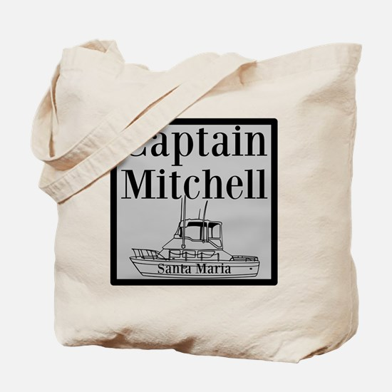 Personalized Captain Tote Bag