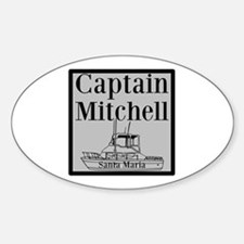 Personalized Captain Decal