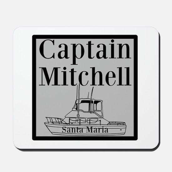 Personalized Captain Mousepad