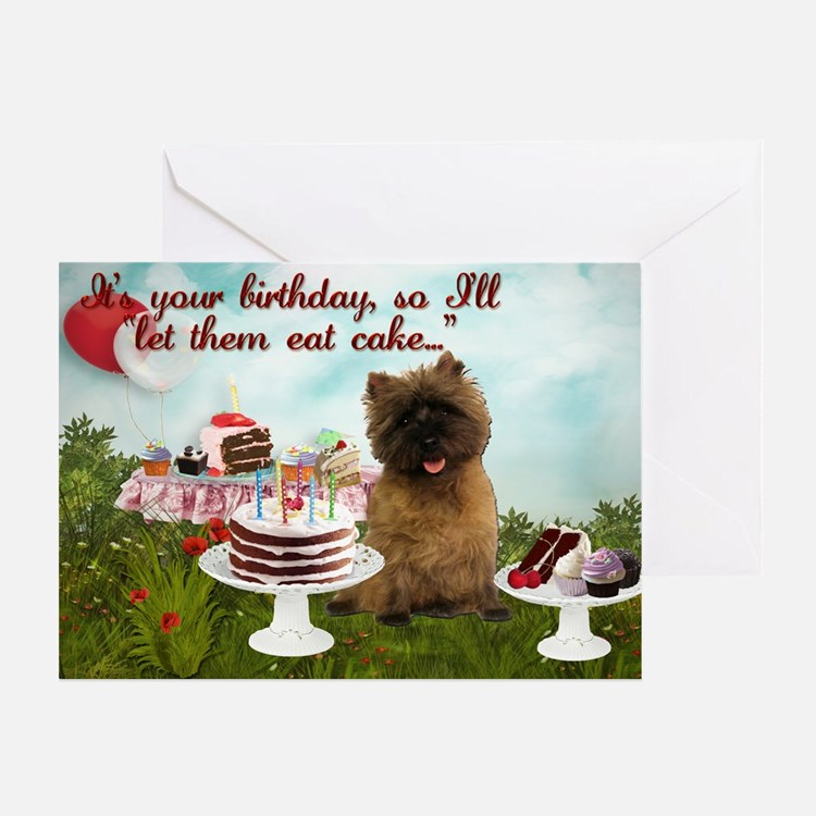 Cairn Terrier Igloo Greeting Card