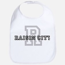 Raisin City (Big Letter) Bib