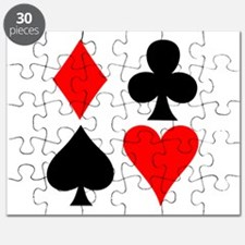 Playing Card Suits Puzzle