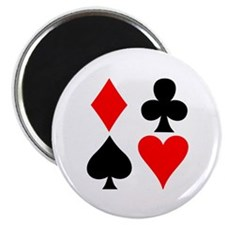 Playing Card Suits Magnet
