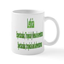 Leticia frases colombianas Mug