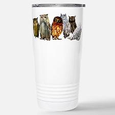 OwlLine.png Stainless Steel Travel Mug