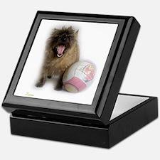 Cairn Terrier Soccer Keepsake Box