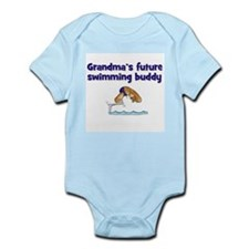 Grandma's Future Swimming Buddy Infant Creeper
