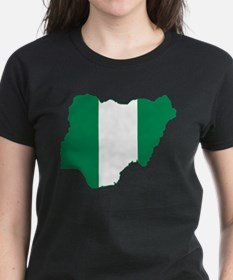 Nigeria Flag and Map Tee