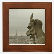 Paris No.2 Framed Tile