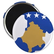 """North Kosovo Flag and Map 2.25"""" Magnet (100 pack)"""