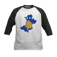 North Kosovo Flag and Map Tee