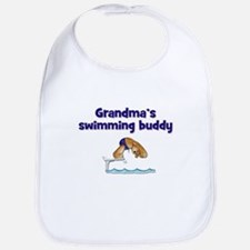 Grandma's Swimming Buddy Bib