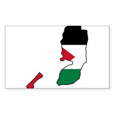Palestine Flag and Map Decal