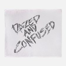 Dazed and Confused Throw Blanket
