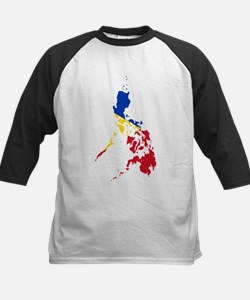 Philippines Flag and Map Tee