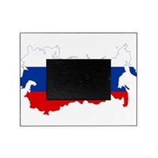 Russia Flag and Map Picture Frame