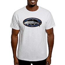 Light Tarpon Fishing T-Shirt