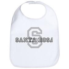 Santa Rosa (Big Letter) Bib